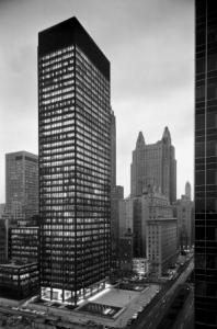 Seagram Building, Location: New York NY, Architect: Mies van der Rohe with Philip Johnson