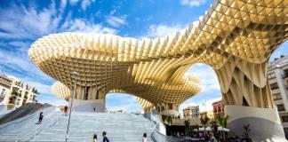 Proyecto Metropol Parasol, también conocido como las Setas de Sevilla.