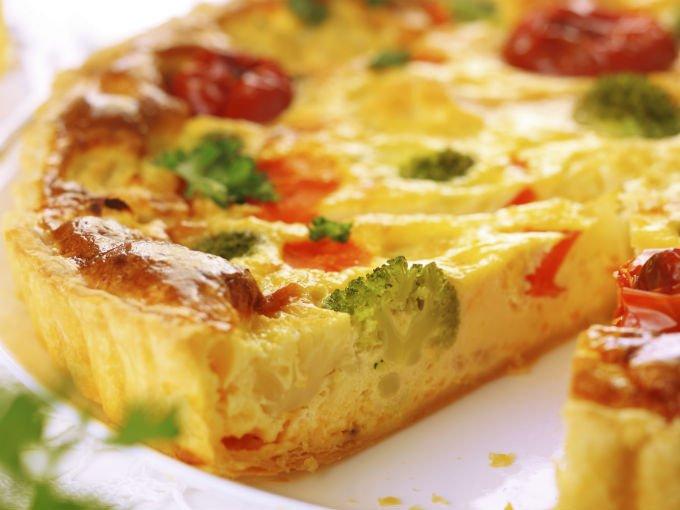 pastel de vegetales