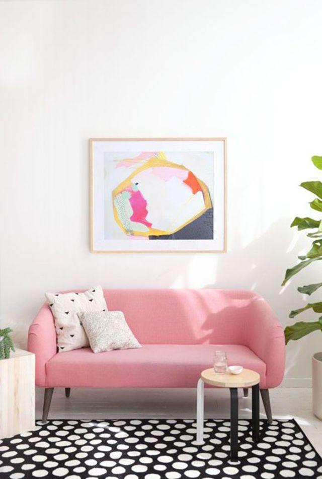 Ambientes en tonos Rosas
