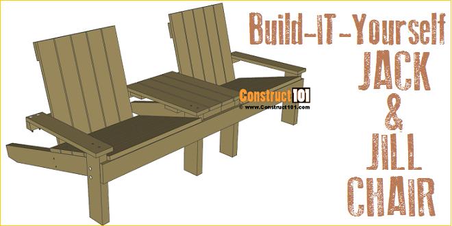 Jack And Jill Garden Seat