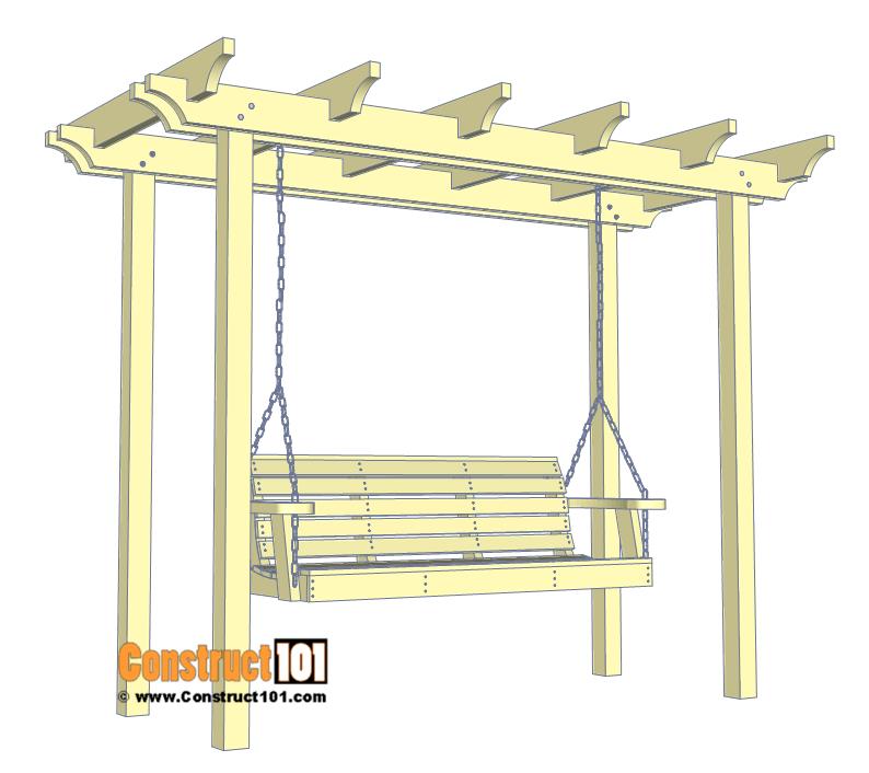 Arbor Swing Plans Free Pdf Download Construct101