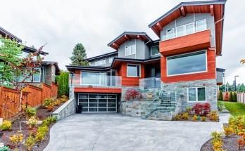 maison moderne, maison à étages