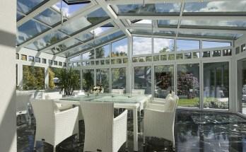 aménager une terrasse avec verrière