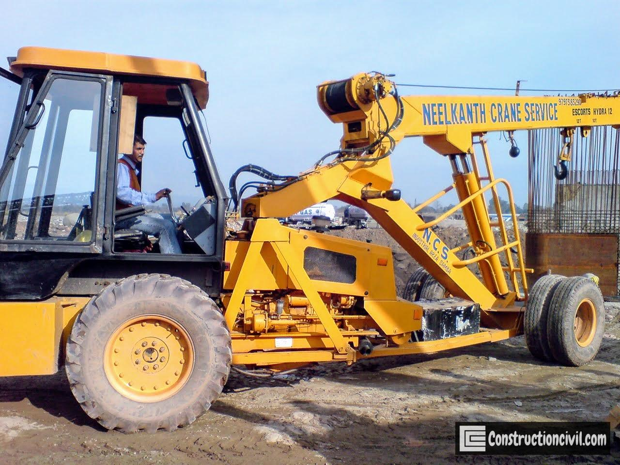 Construction Equipment - Hydra