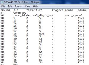 P6 XER File