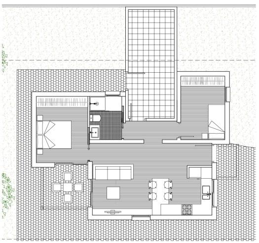 Plano presentación de casa básica