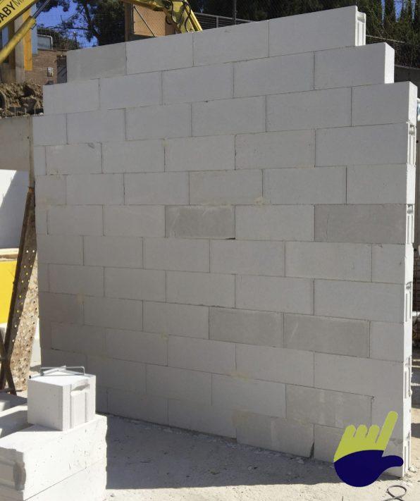 Casa hormigon celular muro de bloque ytong