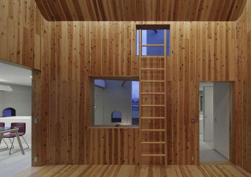 maison bois contemporaine par masahiro