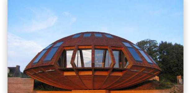 Domespace Maison Bois Ronde Et Rotative Construire