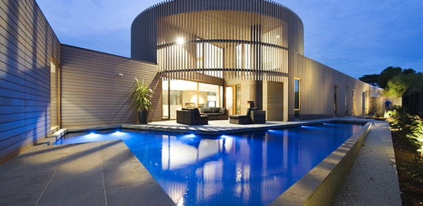 Maison Bois Contemporaine Par Jackson Clements Burrows