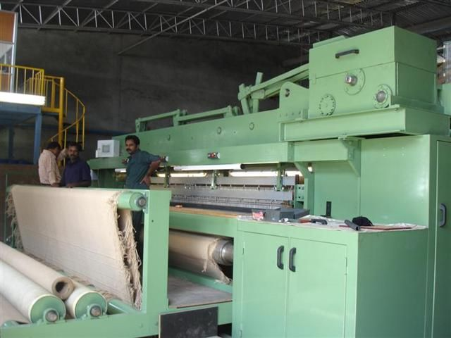 single rapier flatweave carpet weaving machine without jacquard