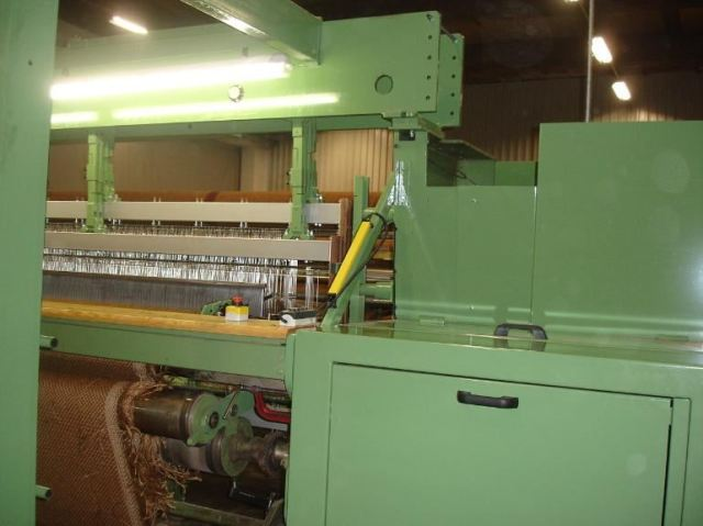 Flatweave Weaving Machine Rebuild To Rapier System