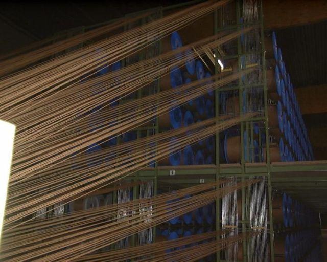 lloyd loom paper weaving machine