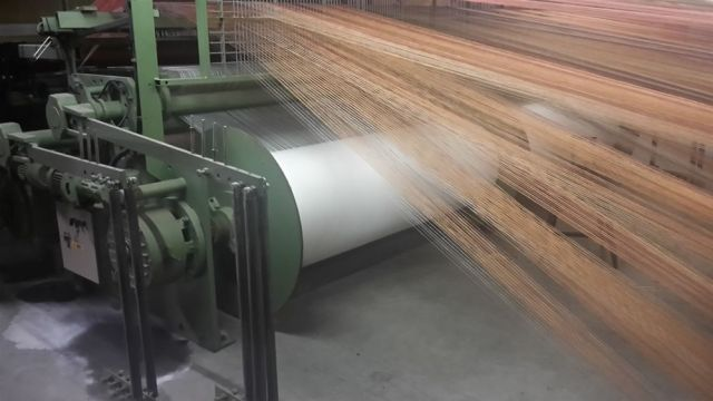 weaving machine beam