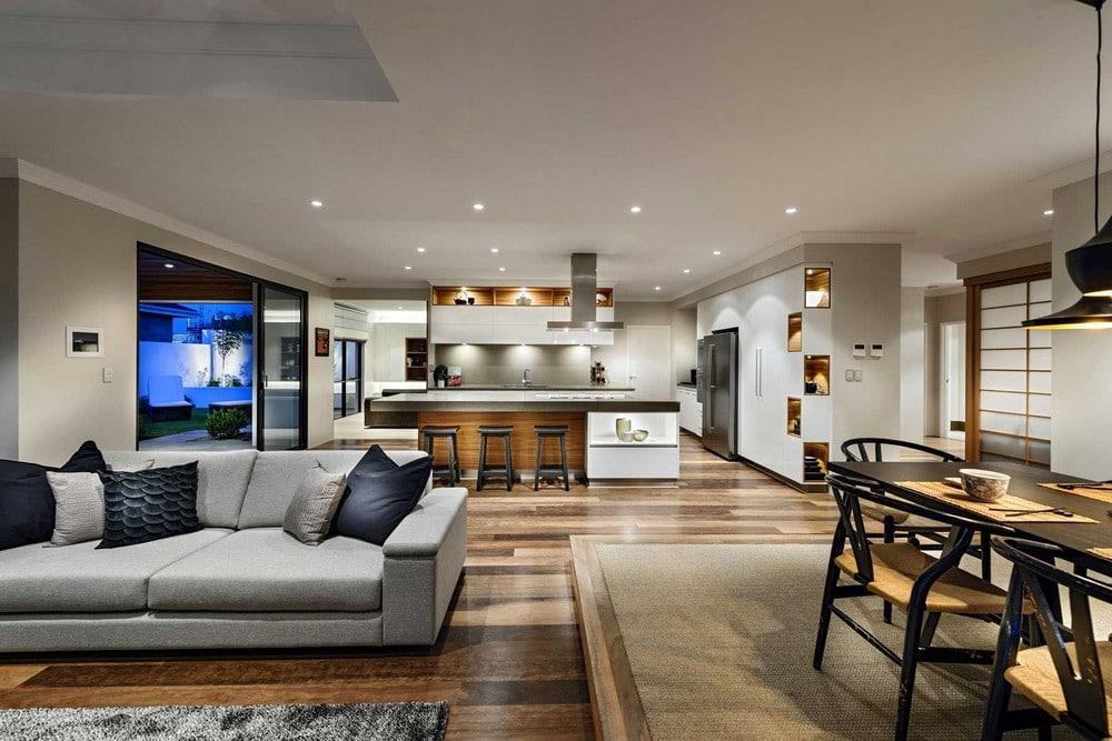 Decoracion De Interiores Living Comedor. Interesting Modern Dining ...