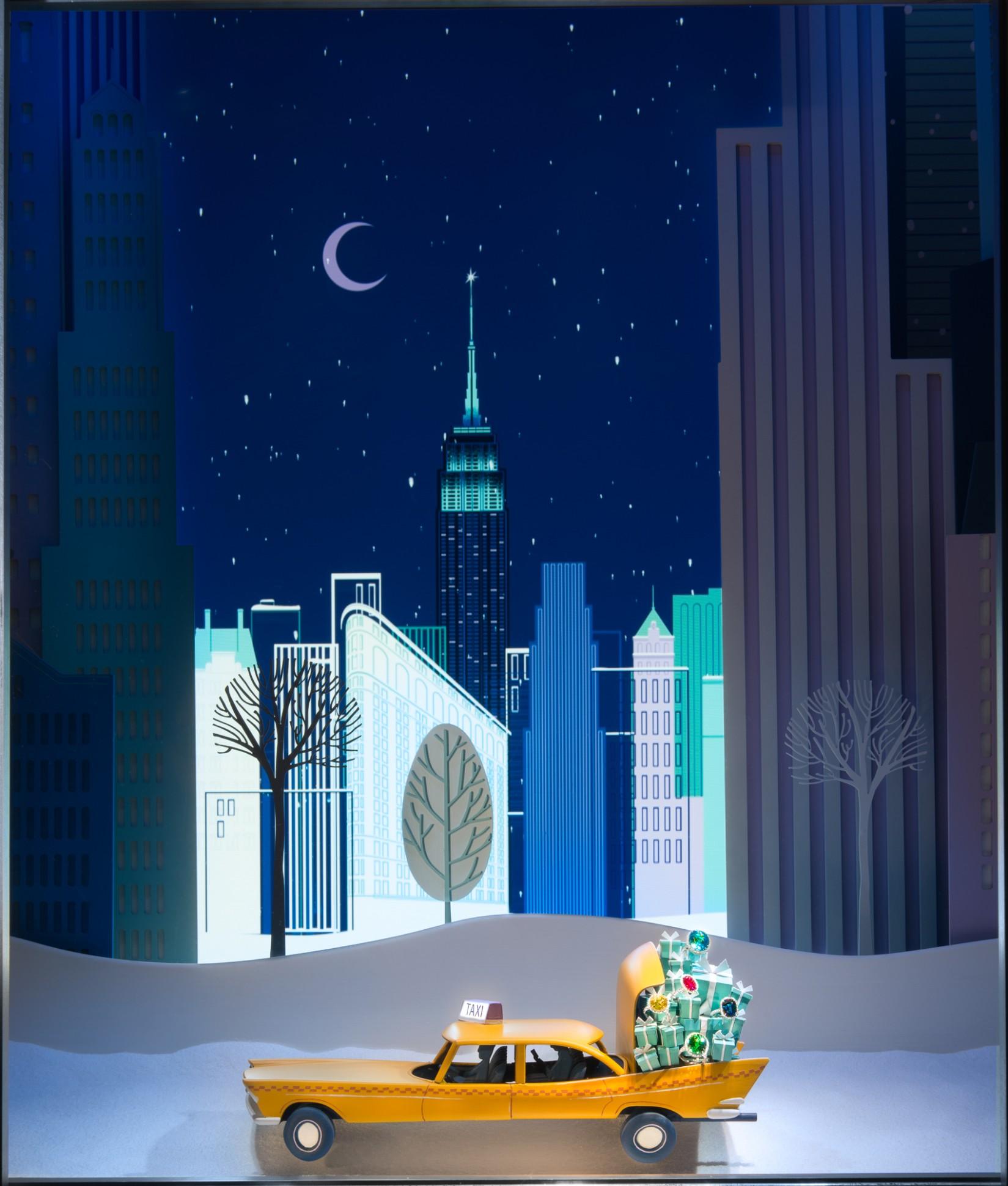 As Mais Lindas Vitrines De Natal Em Nova Iorque