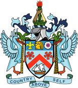 St Kitts Nevis Coat of Arms