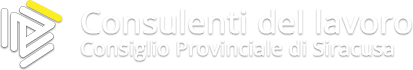 Consulenti del Lavoro Consiglio Provinciale di Siracusa