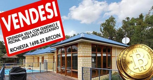 Comprare casa in Bitcoin.. una simpatica mossa pubblicitaria :-)