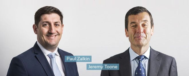 Paul Zalkin and Jeremy Toone