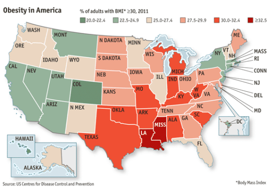 Obesity by State