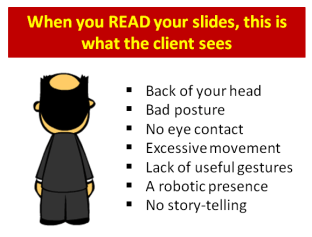 Consultantsmind When you Read Your Slides