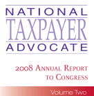 Consultantsmind - National TaxPayer Advocate to Congress