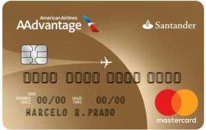 cartão Santander Aadvantage Gold