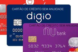 fazer cartão de crédito pela internet