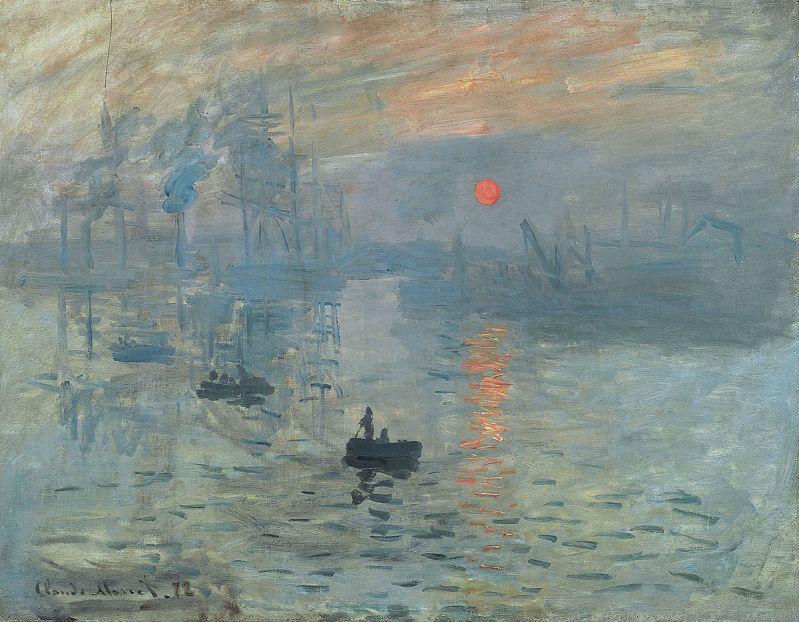 Deprime - La Consultation - impression soleil levant Monet