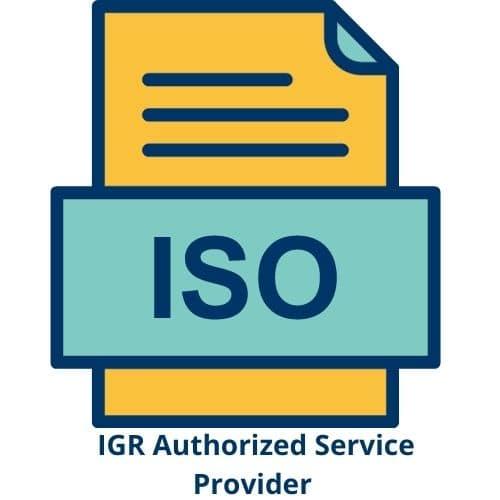 Consultaxx ASP Regd ISO Certified Provider
