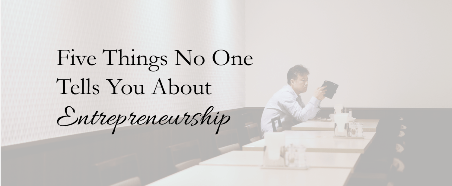 Pivotal Five things no one tells you about entrepreneurship