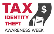 tax identity theft logo