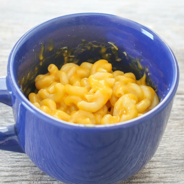 microwave mac and cheese bowl