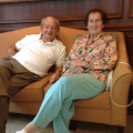 Couple at Atria Forest Hills