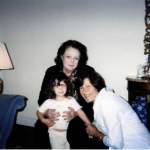 Lou-Ellen Barkan, Mom, and First Great-Granddaughter