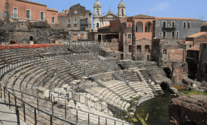 Roman Theater, Catania