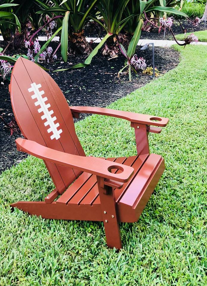 Adirondack Football Chair
