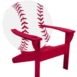 Adirondack Baseball Chair
