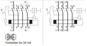 Hager CD280U RCD Double Pole 80A 30mA Two Module Residual