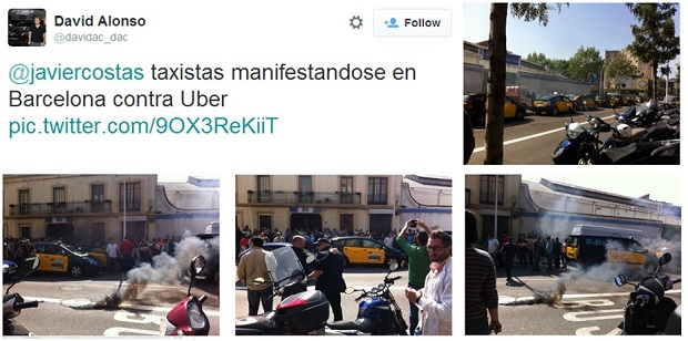 uber bcn taxis Primícia: UberPOP se lanza en Barcelona
