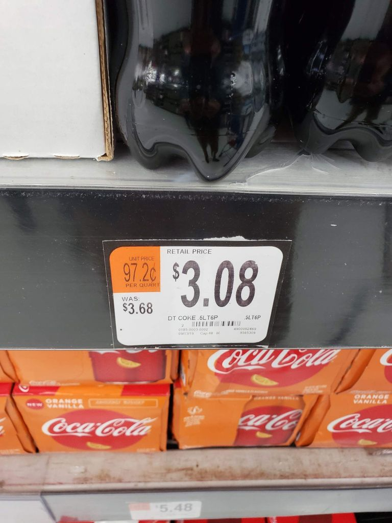 Coca Cola Light en Walmart