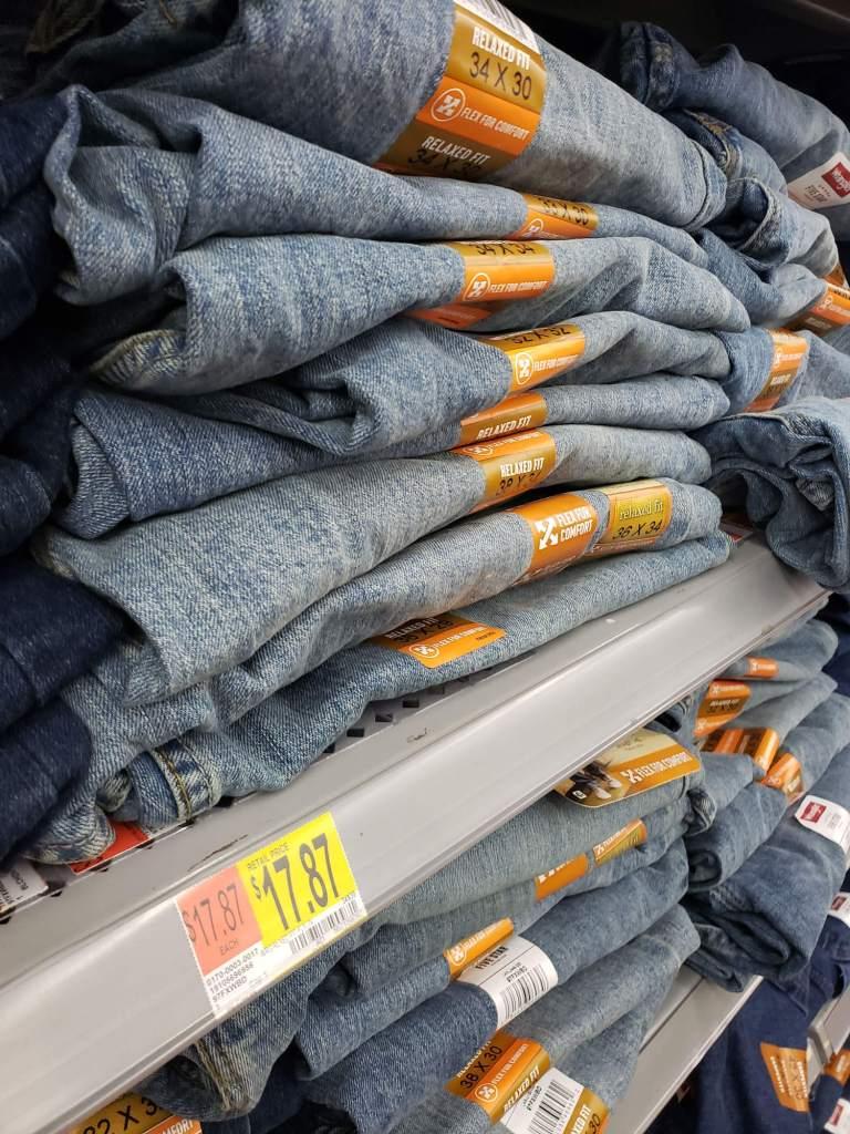 Jeans Wrangler en Walmart Secaucus