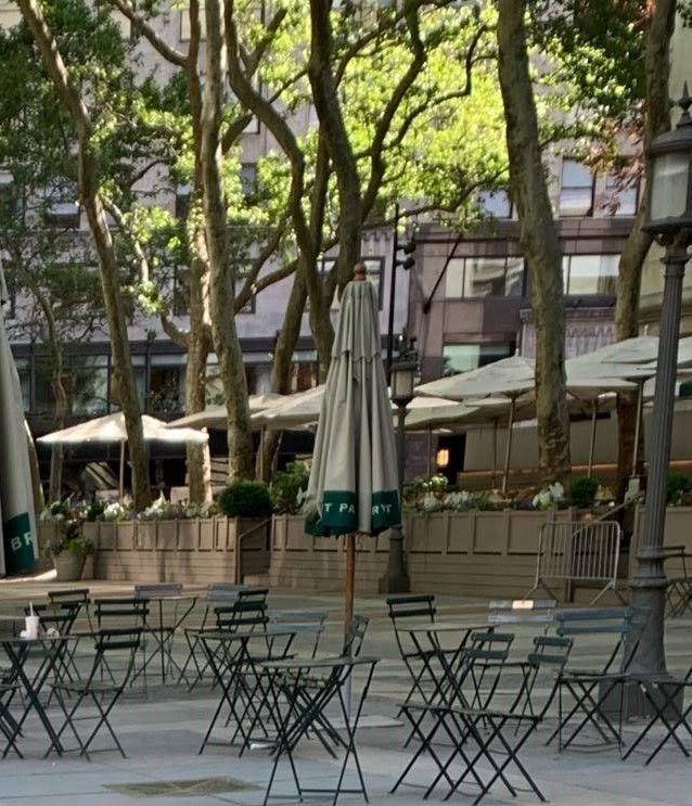 mesas y sillas bryant park 1