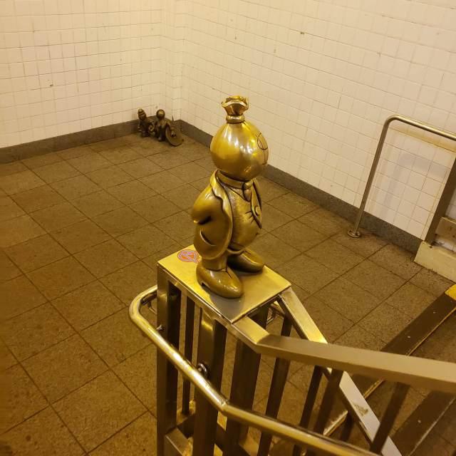 Escultura en 14 Street