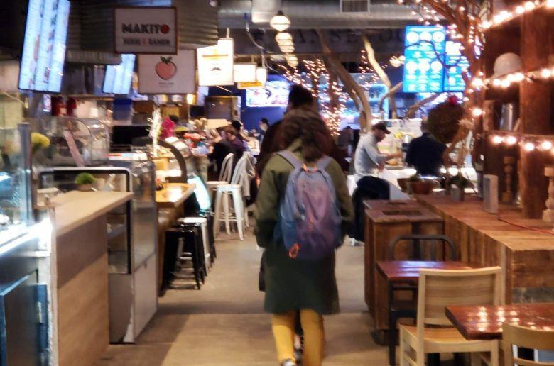 Interior del Gansevoort Market