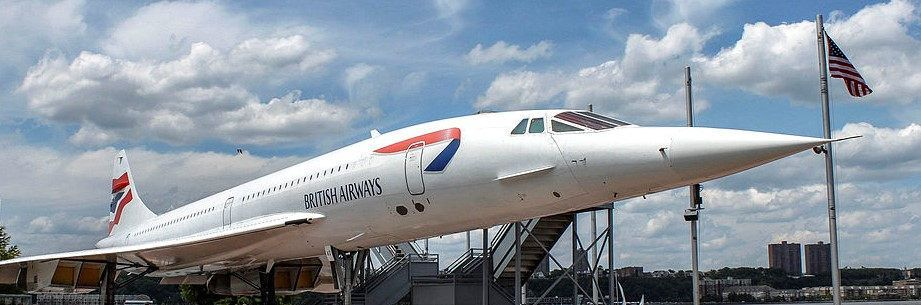 El Concorde de British Airways
