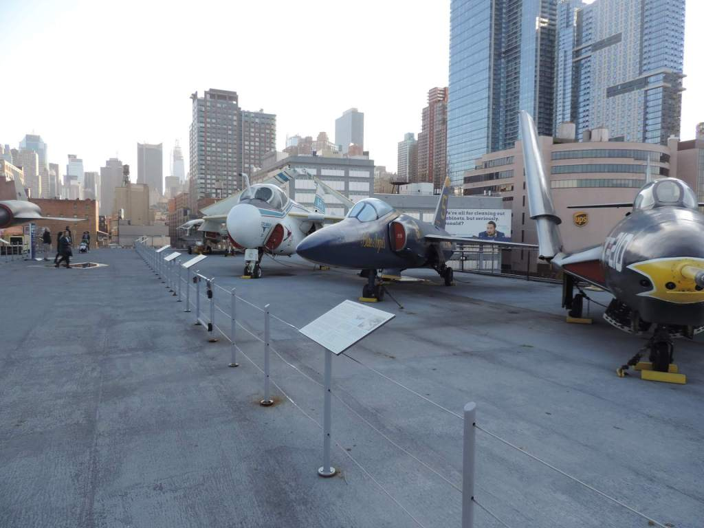 USS Intrepid Cubierta Superior