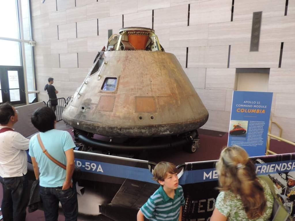 capsula espacial Museo del Aires y el Espacio